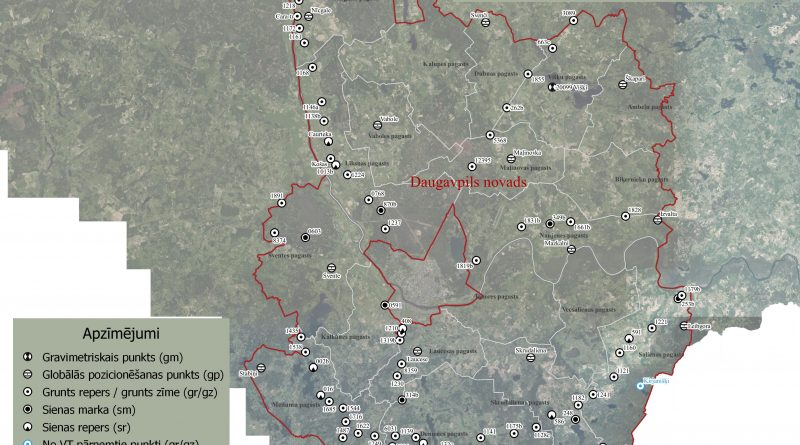 Valsts ģeodēziskā tīkla punktu apsekošanas un sakārtošanas darbi Latgales reģionā